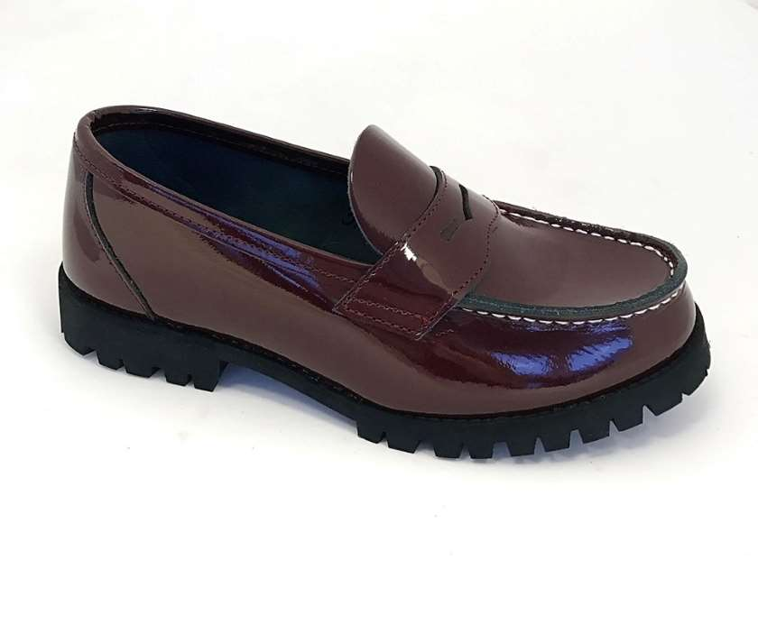 Special offer Aurland shoe Burgundy patent leather