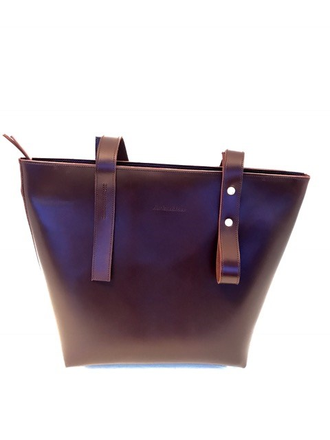 Tote bag mini oxblood