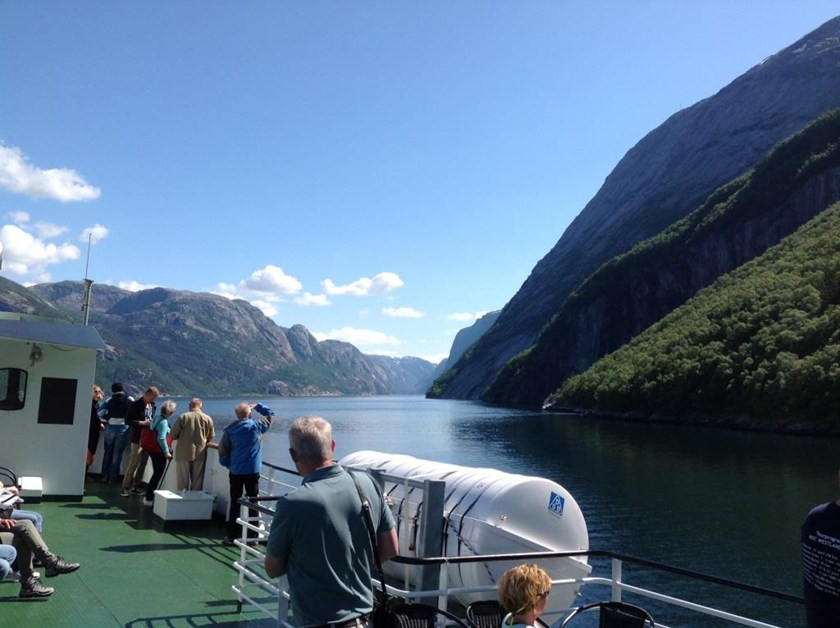 Fjord Cruise Lysefjord