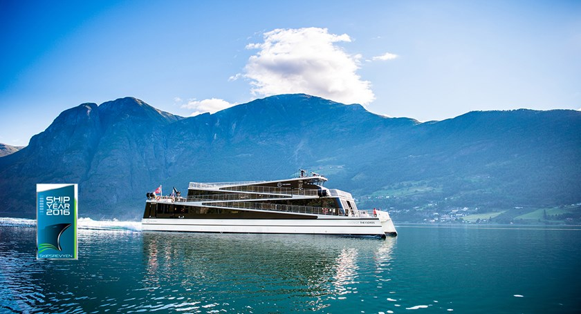 Vision of The Fjords kåret til «Ship of the Year 2016»