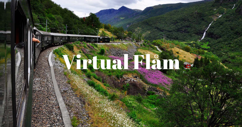 The Flåm Railway – one of the world's most beautiful train journeys