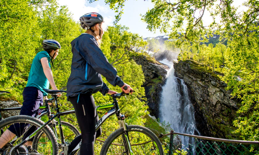 The Flåm Railway + Hiking or biking