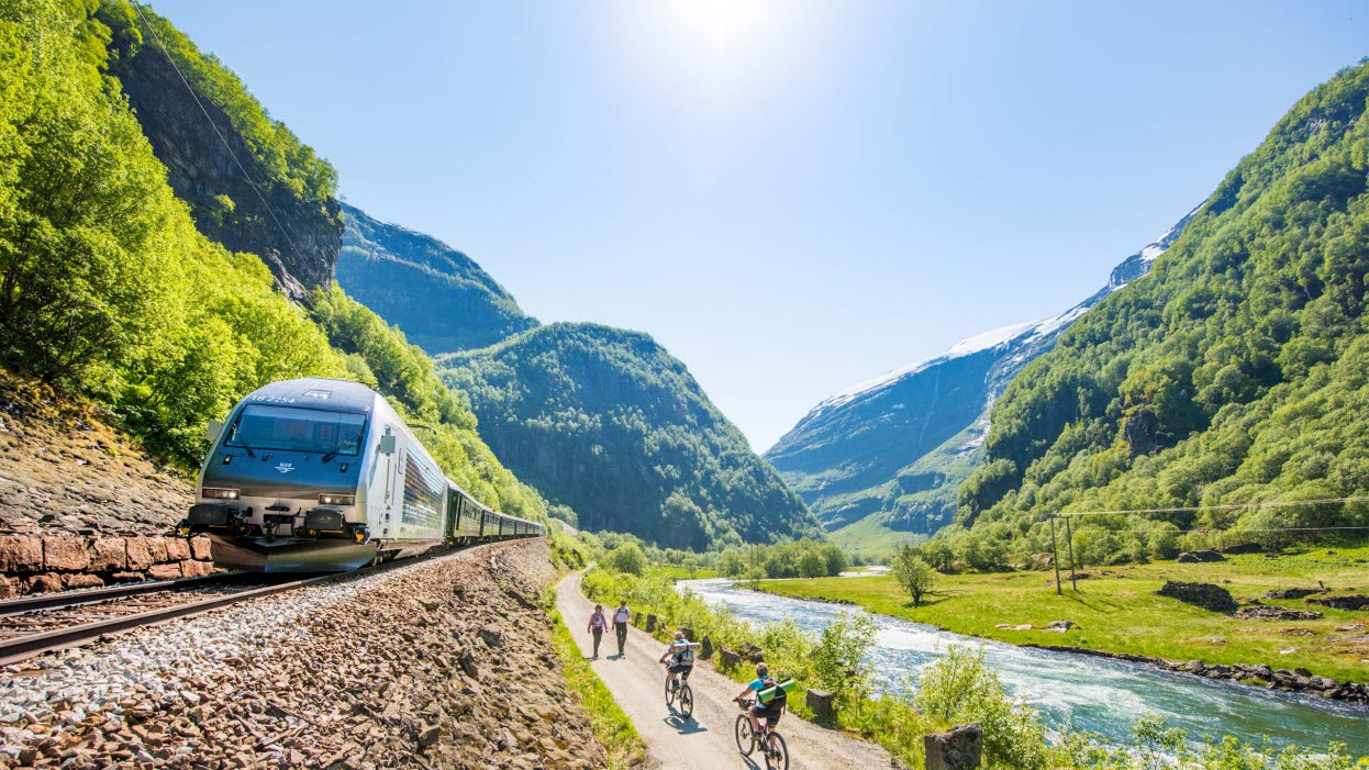 So how do you get to Flåm in the greenest possible way?