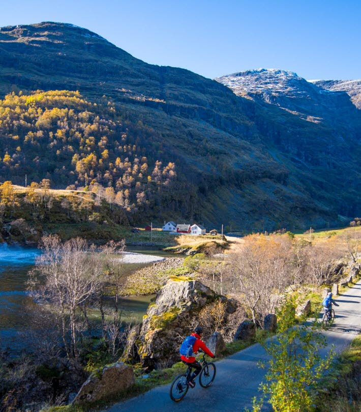 How to Explore the Verdant Flåm Valley