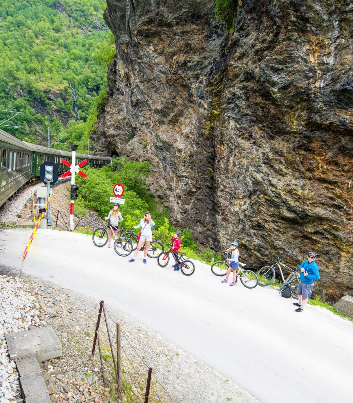 Hike or Bike the Flåm Valley