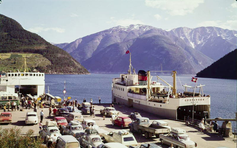 Fjord Cruise Sognefjord - 1950